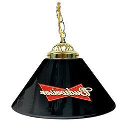 "Budweiser Single Shade Gameroom Lamp, 14"""