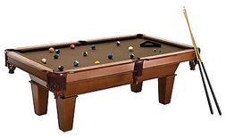 New Fat Cat 7 Foot Frisco II Billiard Pool Table Brown Wool