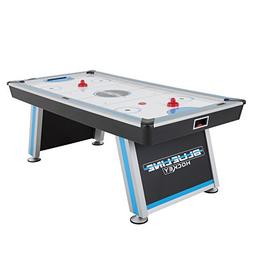 Triumph Blue-Line 7' Air-Powered Hockey Table with 100V Moto