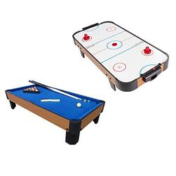"Playcraft Sport 40"" Air Hockey Table and 40"" Pool Table with"