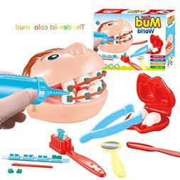 AMOFINY Baby Toys Children's Trumpet Simulation Instrument U