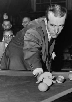 Art Print Poster / CANVAS Irving Crane Taking Aim on Pool Ta