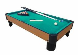 bank shot 40 inch pool table green