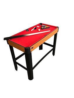 "Playcraft Sport Bank Shot 40"" Pool Table Standard Legs/Red C"