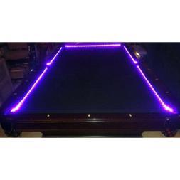 Bar Billiard Pool Table Bumper LED RGB Color Changing Lights