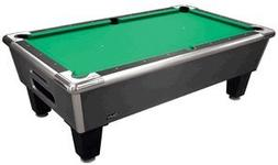 Shelti Bayside 8-Foot Home Pool Table Design: Charcoal Matri