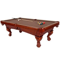 Harvil Bellagio Slate Pool Table 8-Foot with Camel Felt. Inc