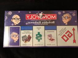 Monopoly Berkshire Hathaway Diamond Edition featuring Warren