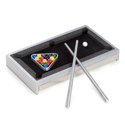 Bey-Berk Desk Top Aluminum Pool Table. G510