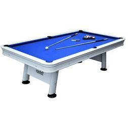 HATHAWAY BG3147 Alpine Outdoor Pool Table,8 ft.,Al R