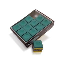 Hathaway Green Billiard Pool Cue Chalk , Green