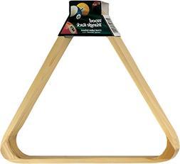 Viper Billiard/Pool Table Accessory: 8-Ball Rack, Hardwood T