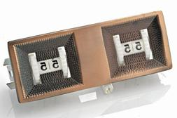 Billiard Pool Table Score counter set of 2 - Chrome Plated -