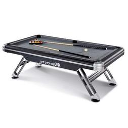 Billiard Pool Table Set Metal Legs Indoor Family Game Room A