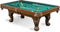 Billiard Table Pool Cheap Best 87 Inch Cues Balls Chalk Tria