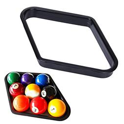 Alloet New Billiards 9 Ball Pool Table Triangle Rack Heavy D