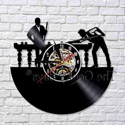 Billiards Vinyl Record Wall Clock <font><b>Pool</b></font> <