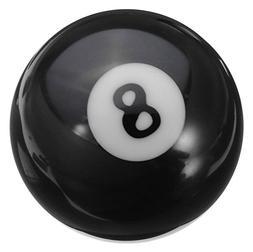 Gracefulvara The Black-8 Billiard Pool Ball Replacement 57.2