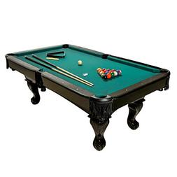 Harvil 84-Inches Black Billiard Pool Table with Complete Poo
