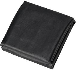 Black 8' Heavy Duty Leatherette Pool Table Cover - 8 Foot Bi