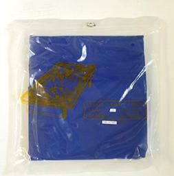 LGS 7FT BLUE NYLON WEIGHTED POOL TABLE COVER
