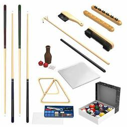 Brand New Trademark Gameroom 32 Piece Billiard Accessory Kit