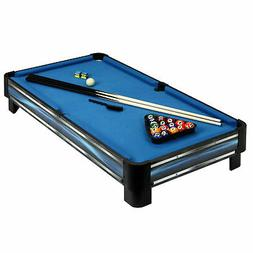 Hathaway Breakout Tabletop Pool Table, 40-in, Blue