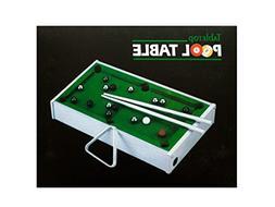Bulk Buys Mini Tabletop Pool Table Indoor Games