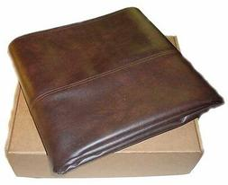 Bumper Pool Table Cover - Fitted Heavy Duty Brown Naugahyde