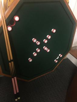 Bumper Pool Table /Poker Table Top - Good Condition.-LOCAL P