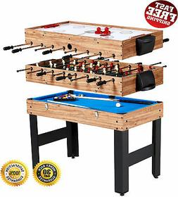 Combo Game Table 3 Games Billiards Hockey & Foosball MD Spor