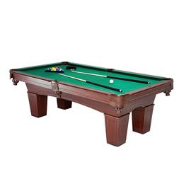 MD Sports Crestmont 8 Ft Billiard Pool Table Set Balls Cues