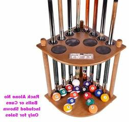 Cue Rack Only - 8  Pool Billiard Stick &  Ball Floor Stand W