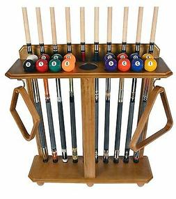 Cue Rack Only - 10 Pool - Billiard Stick & Ball Set Floor -