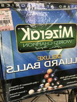 MIZERAK Deluxe Billiard Ball Complete Set w/Cue Ball in Box