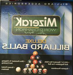 Mizerak Deluxe Billiard Balls Billiard Accessories World Cha
