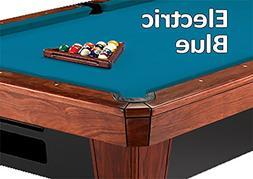 Simonis Electric Blue Billiard Cloth- 8 Foot Cut