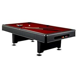 Imperial Eliminator Black Pool Table Modern Look - 7 and 8 F