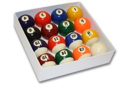 """Empire USA Deluxe Pool Ball Set Standard Size 2-1/4"""""""