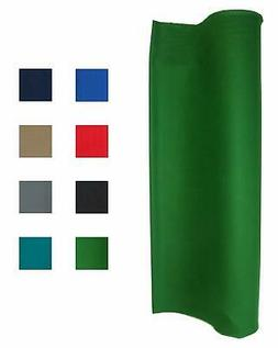 21 Ounce Pool Table Felt - Billiard Cloth - For An 8 Foot Ta