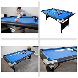Hathaway Fairmont Portable 6-Ft Billiard Pool Table Set Ball