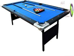 Hathaway Fairmont Portable Pool Table 6 Ft Indoor Game Easy
