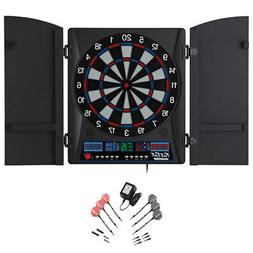Fat Cat Electronx Electronic Soft Tip Dart Board with Cabine