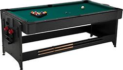 Fat Cat Original 2-in-1, 7-Foot Pockey Game Table Air Hockey