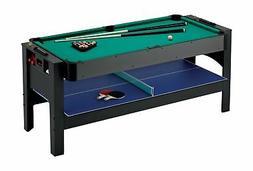 Fat Cat Original 3-in-1, 6-Foot Flip Game Table (Air Hockey,