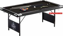 Fat Cat Trueshot 6' Pool Table with Folding Legs for Easy