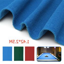 Felt  Snooker Table Accessories Pool Table Cloth For 7ft 8ft