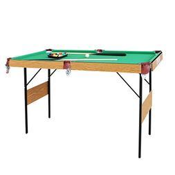 IFOYO Billiard Table, 55 Inch Folding Pool Table Steady Pool