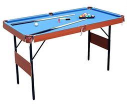 "HLC 55"" Folding Space Saver Pool Billiard Table"