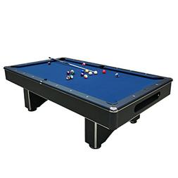 Harvil Galaxy Slate Pool Table 8-Foot with Blue Felt Include